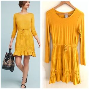 Anthro | Dolan Ingrid Tiered Yellow Dress XS